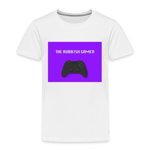 THE RUBBISH GAMES LOGO - Kids' Premium T-Shirt