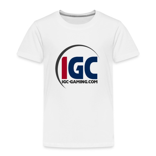 IGC Logo mit Website - Kinder Premium T-Shirt