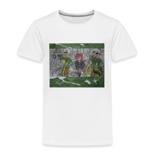 tritt den muelleimer um - Kinder Premium T-Shirt
