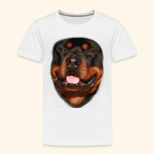 rotweiller face - Kids' Premium T-Shirt