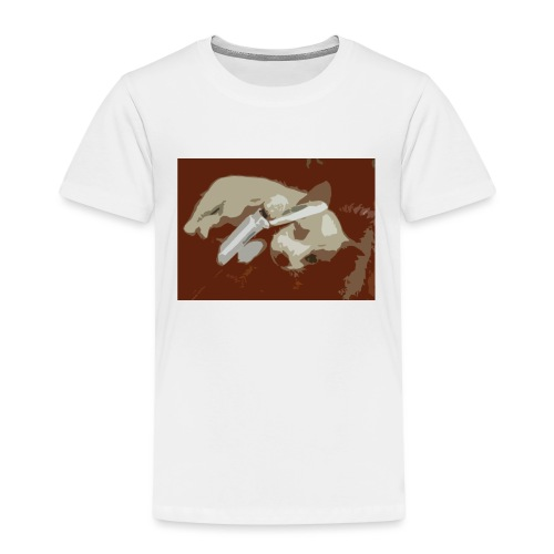 Dog speaking in phone - Premium T-skjorte for barn