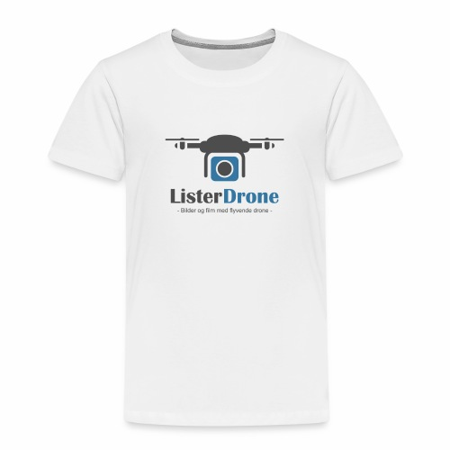 Listerdrone - Premium T-skjorte for barn