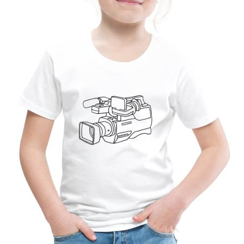 Video Kamera - Kinder Premium T-Shirt