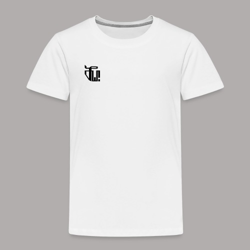 Zirkel, schwarz (vorne) Zirkel, weiss (hinten) - Kinder Premium T-Shirt