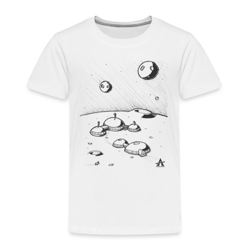 Moonbase Sketch ligne - T-shirt Premium Enfant