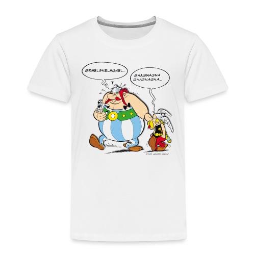 Asterix & Obelix boudeur - T-shirt Premium Enfant