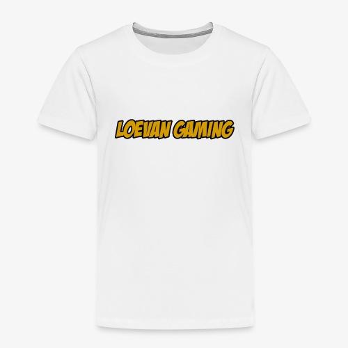 logo classique jaune moutarde - T-shirt Premium Enfant