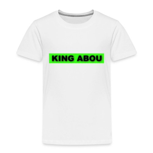 2560x1440 neon green solid color background - Kinderen Premium T-shirt