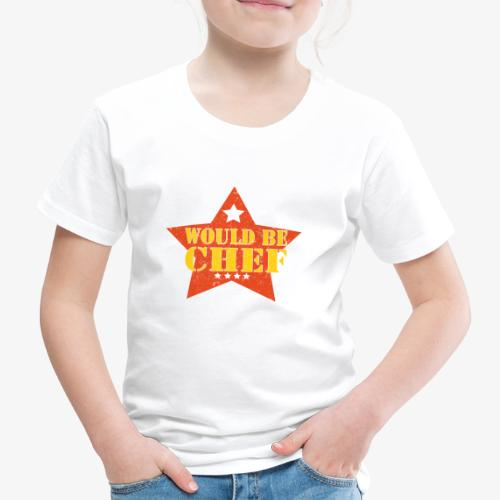 Would Be Chef - Kinderen Premium T-shirt