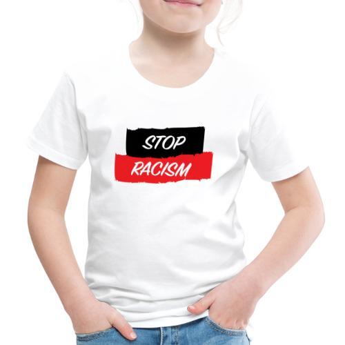 STOP RACISM - Camiseta premium niño