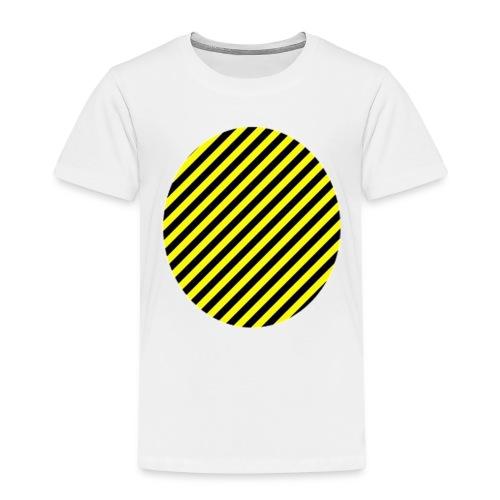 varninggulsvart - Premium-T-shirt barn