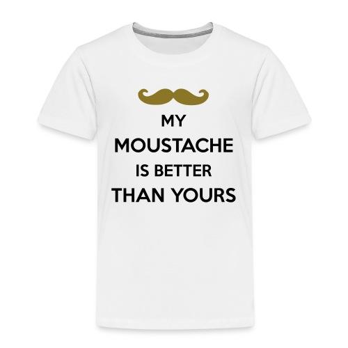 My moustache is better - Kids' Premium T-Shirt