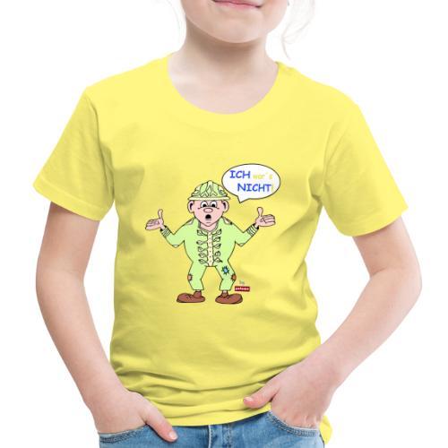 patame Zwuckel Ich wars nicht! Blau - Kinder Premium T-Shirt