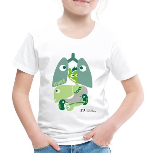 Organene - Premium T-skjorte for barn