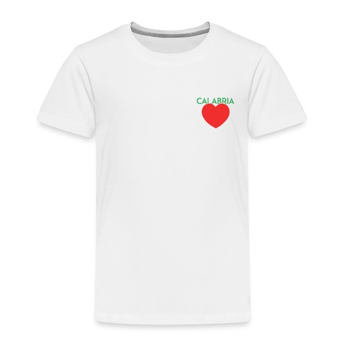 Disprocal TShirt Design Calabria Herz - Kinder Premium T-Shirt