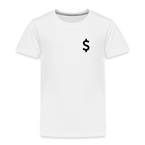 Simbolo de dolar / Dollar symbol - Camiseta premium niño