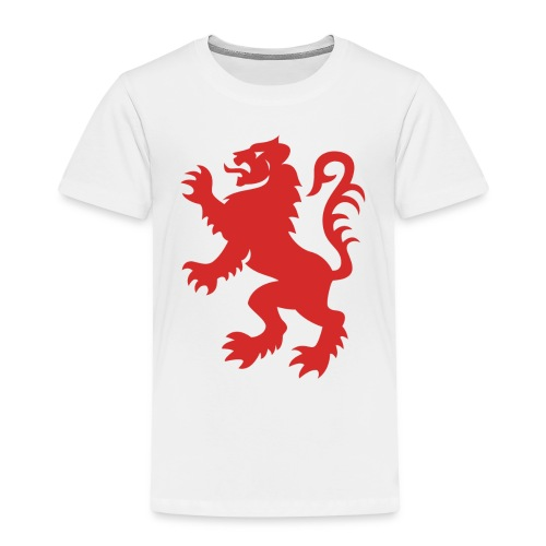 Red Lion Rampant - Kids' Premium T-Shirt