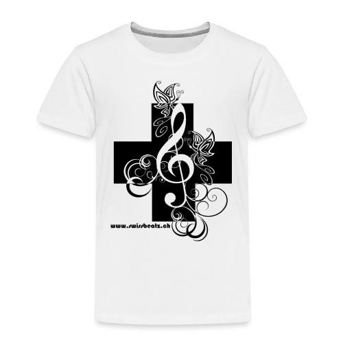 Swiss Beatz Logo non L - Kinder Premium T-Shirt