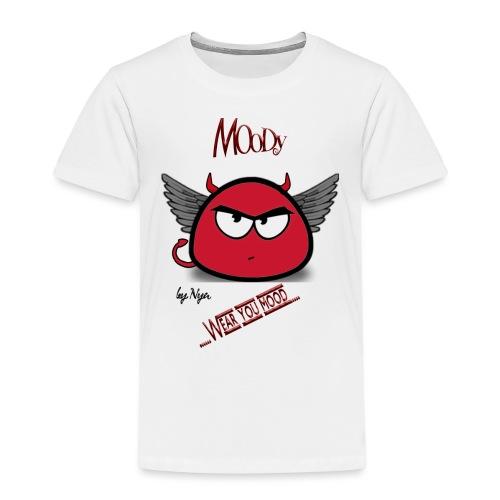 MOODY DEVIL - Maglietta Premium per bambini