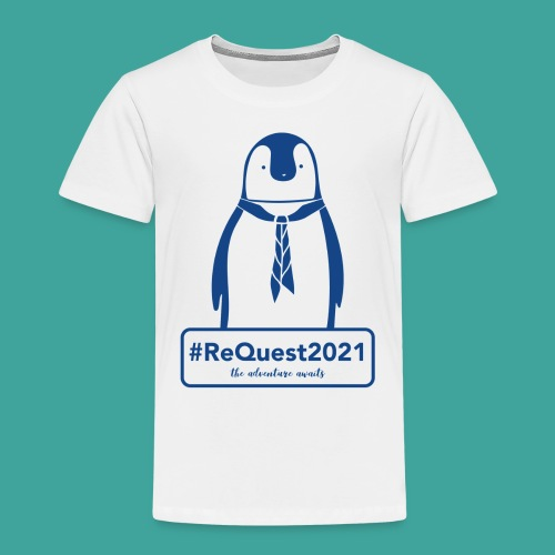 Kent Scouts #ReQuest2021 Antarctica Expedition - Kids' Premium T-Shirt