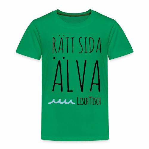 Rätt sida Älva - Premium-T-shirt barn