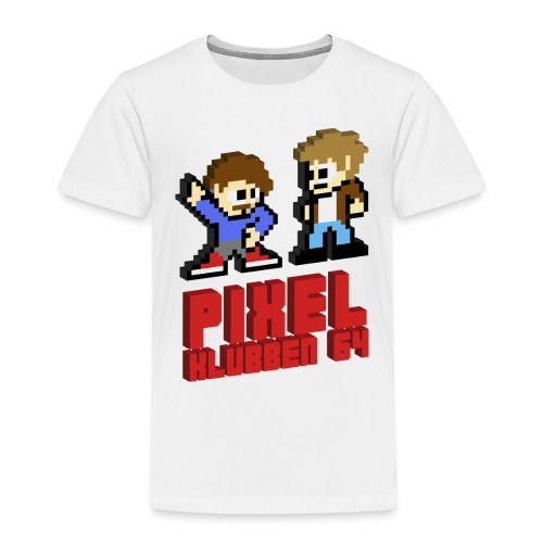 T-shirt med stor logga (Herr) - Premium-T-shirt barn