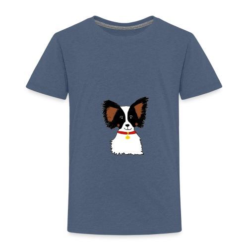 Papillon dog - Kids' Premium T-Shirt