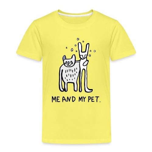 ME AND MY PET T-Shirt für die große Liebe - Kinder Premium T-Shirt