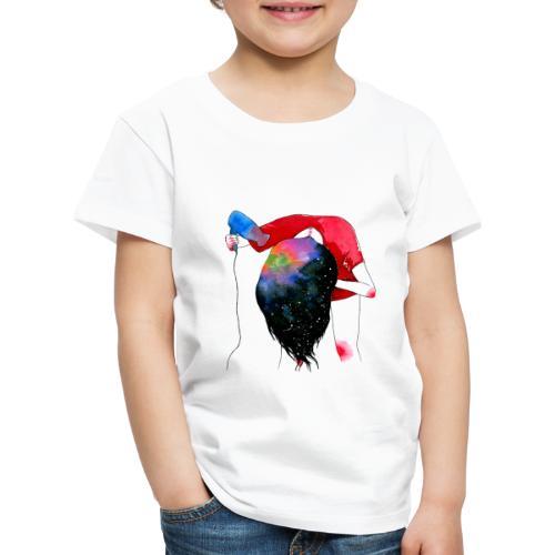 hair drying - Kids' Premium T-Shirt