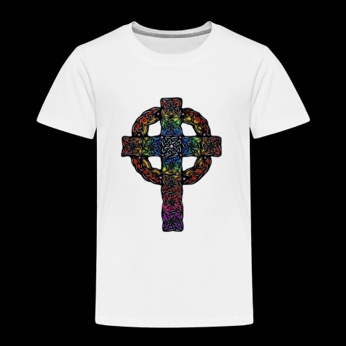 Celtic Cross - rainbow - Kids' Premium T-Shirt