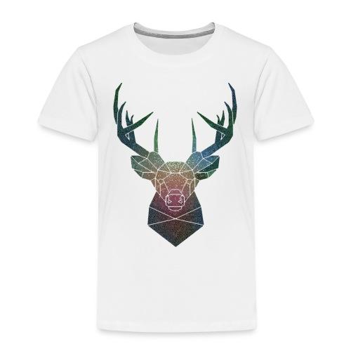 Cervo di colore - Maglietta Premium per bambini