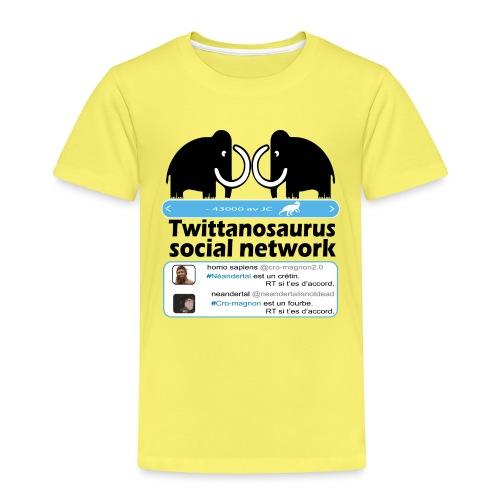 homo sapins versus neandertal - T-shirt Premium Enfant