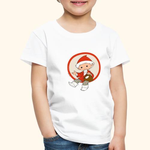 Sandmännchen streut Sand - Kinder Premium T-Shirt
