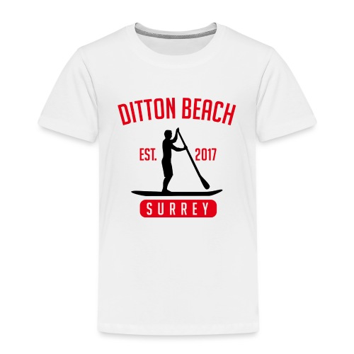 Ditton Beach Logo Final - Kids' Premium T-Shirt