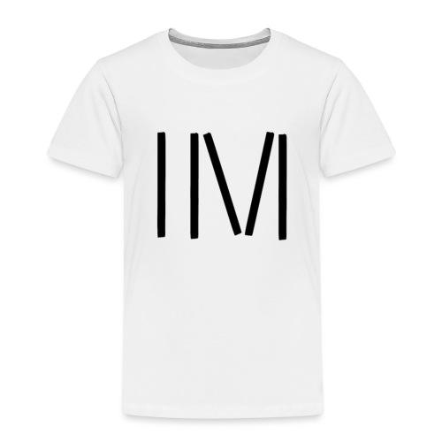 IM LOGO SCHWARZ - Kinder Premium T-Shirt