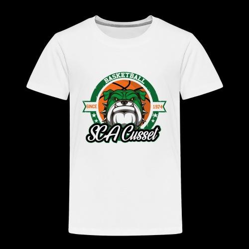 SCA Cusset Basket - T-shirt Premium Enfant