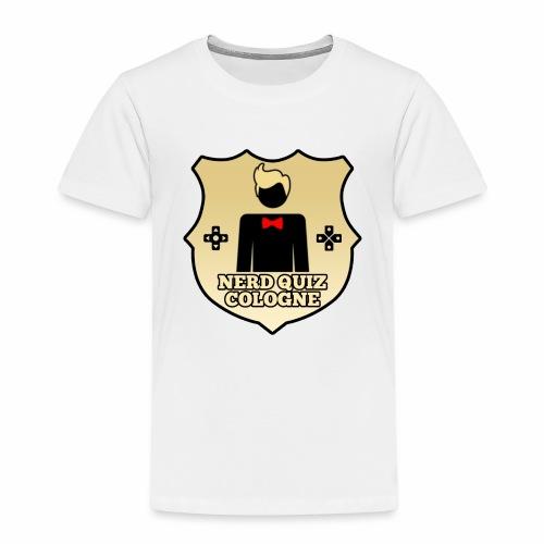 Nerd Quiz Logo - Kinder Premium T-Shirt
