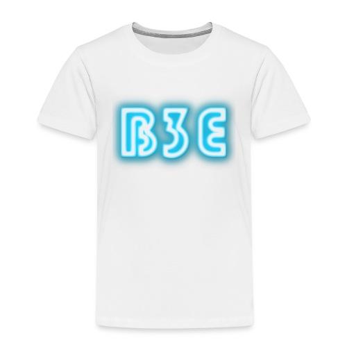 B3E: Logo - Neon - Kids' Premium T-Shirt