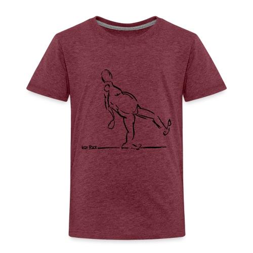 Lean Back Doodle - Kids' Premium T-Shirt