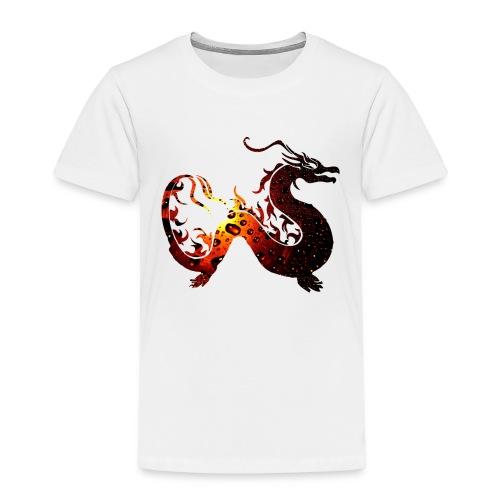 Flammendrache - Kinder Premium T-Shirt