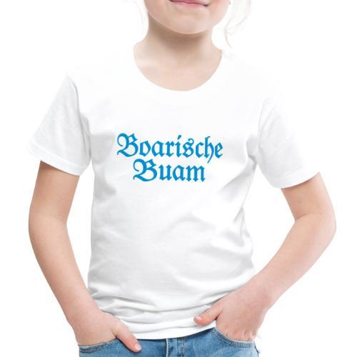 Boarische Buam (Blau) Bayern Männer Jungs - Kinder Premium T-Shirt