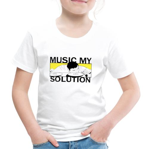 MUSIC MY SOLUTION - T-shirt Premium Enfant