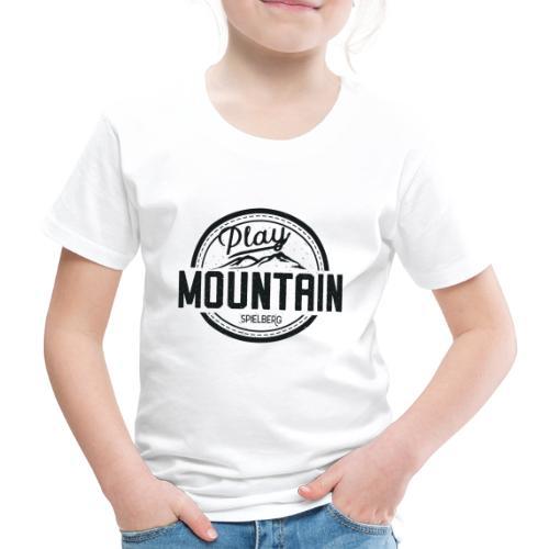 Play Mountain Black Edition - Kinder Premium T-Shirt
