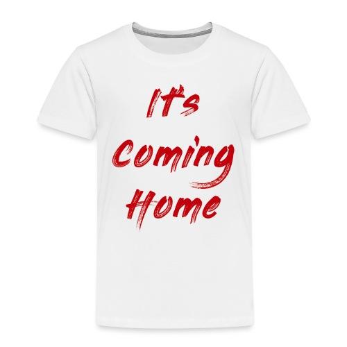 England It's Cominng Home Merch V1.0 - Kids' Premium T-Shirt