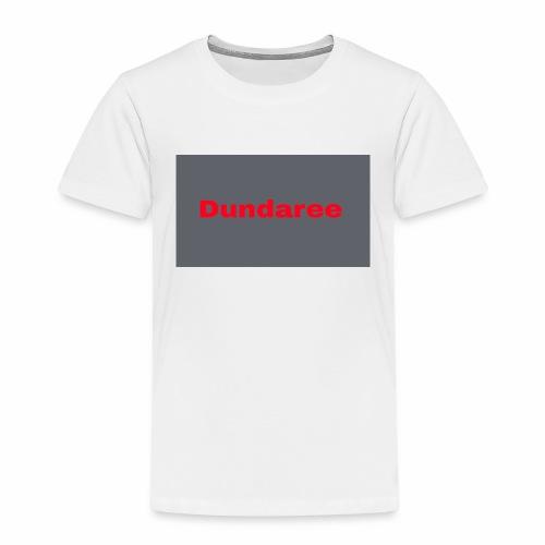 red dundaree t-shirt - Kids' Premium T-Shirt