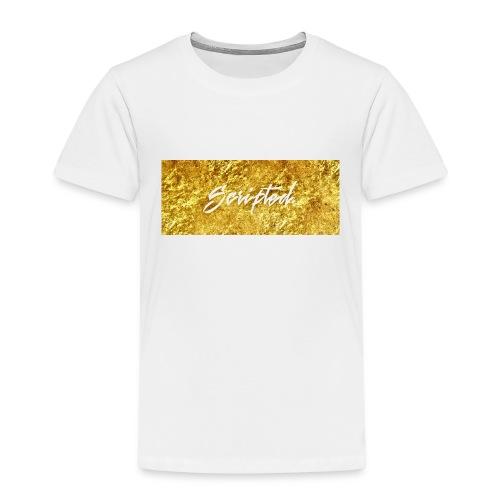 Scripted. Box Logo - Kids' Premium T-Shirt