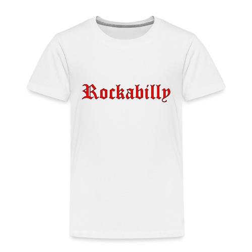 rockabilly red contour noir - T-shirt Premium Enfant