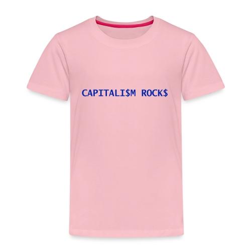 CAPITALISM ROCKS - Maglietta Premium per bambini