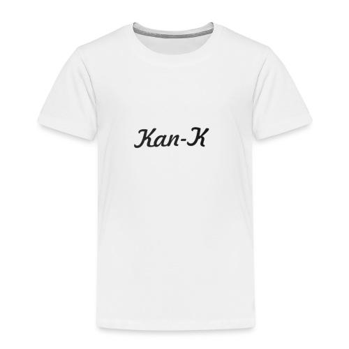 Kan-K text merch - Kids' Premium T-Shirt