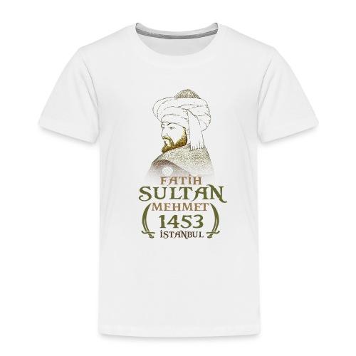 fatih sultan mehmet - Kinder Premium T-Shirt